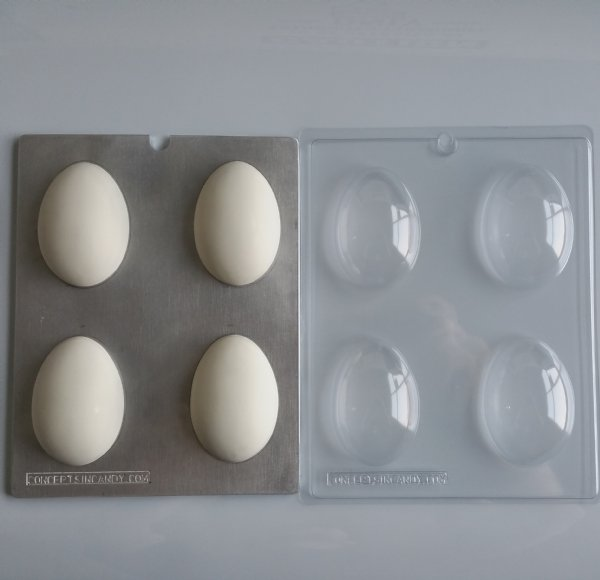 Small Blank Easter Egg Chocolate Mold E143